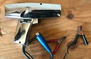 Vintage Chrome Kal Equip Power Timing Light For 12 Or 6 Volt Auto Car Truck