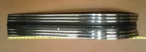 Nos Gm 1953 Pontiac Trunk Waterfall Wide Band Molding Chieftain Silver Streak