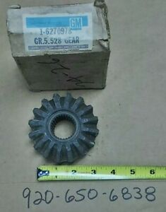 Nos Gm Chevy 6270978 Differential Gear Front 4wd Rear 8 5 73 78 Blazer Olds Cars