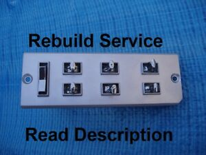 Rebuild Service 1963 1964 Lincoln Continental Power Window Switch Master Control