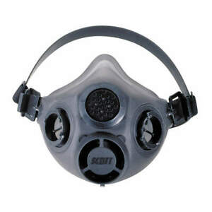 Scott Safety Xcel Half Mask Respirator 7421 114 Large New In Package W filters