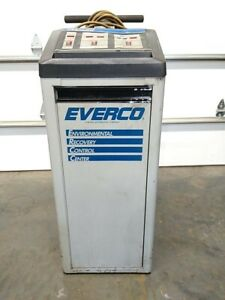 Everco A9950 Rcfc 12 Recycling Refrigerant Recovery Recharging Machine