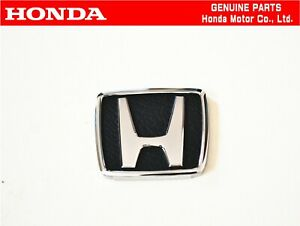 Honda Genuine Civic Ef3 Si Oem Steering Wheel Badge Emblem Jdm Oem