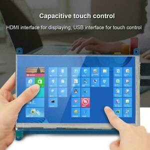 7 Inch 1024 600 Capacitive Touch Screen Hdmi Lcd Display For Raspberry Pi 2 3 Gh