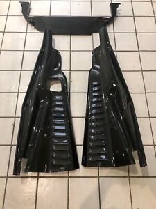 2014 2015 Ferrari 458 Speciale Capisto Oe Style Engine Bay Carbon Trims Panels