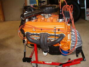 1964 Chevy 283 Engine Complete Rebuild Numbers Correct File 1974