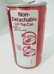 Vintage Coca-Cola Coke Can Empty Mobile Alabama, Rare Early Lift Top Can
