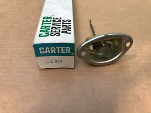 Carter Choke 170 233 Nos 70 71 Dodge 383 Cu In Carter 2 Barrel