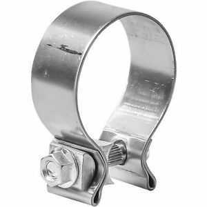 Totalflow Tf 225ss Single Bolt Exhaust Muffler Clamp Band 2 25 Inch