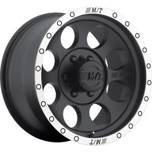 15x10 Mickey Thompson Classic Baja Lock Black Wheels Rims 45 6x5 50 Qty 4