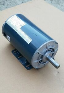Marathon 56t17d5847a 3hp Electric Motor 208 480v 1725rpm Fr 56hz Made In Usa