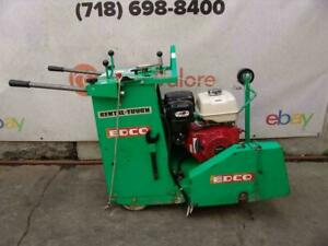 Edco Ss20 13h Concrete Saw Walk Behind Self Propelled Works Great Bg3