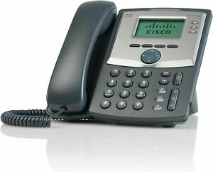 2 Cisco Spa 303 Voip Phones 3 Months Service Fax Line toll Free Number