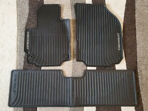2018 2019 Chevrolet Equinox Genuine Gm Front Rear All Weather Floor Mats Black