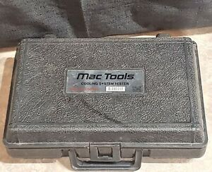 Mac Tools Cst500 Cooling System Pressure Tester Case And Manuals Only
