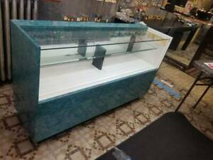 5ft Showcase Jewelry Display Full Merchandise With Draws Glass Pick Up Brooklyny