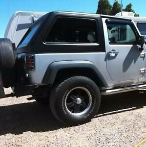 Hollywood Acc Hard Top Fastback For 2007 2018 Jeep Wrangler Jk 2 Door Usa