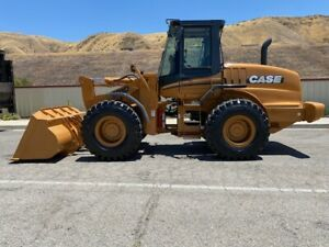 Case 621d Loaded 3200 Hours Since New Ac ride Controls ex Ca City Since New