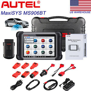 Autel Maxisys Ms906bt Auto Diagnostic Scan Tool Obd2 Car Code Scanner Ecu Coding