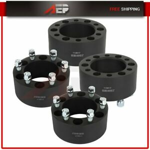 4 Pcs Wheel Spacers 6x5 5 3 14x1 5 For Chevy Avalanche Silverado 1500 Gmc Yukon