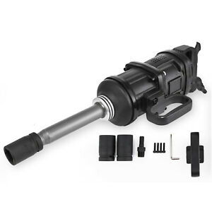 4280 Ft Lbs Air Impact Wrench 1 Drive Pneumatic Wrench Gun 8 Extended Anvil