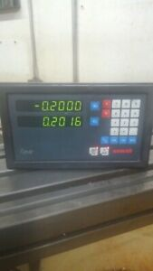 Newall Topaz Digital Readout Dro 2 Axis Working Rebuilt Tested Free Shipping Usa