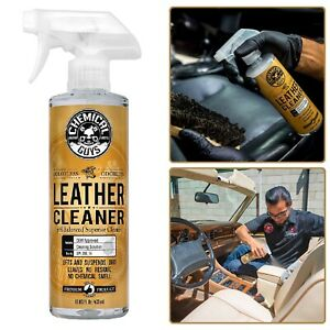 Leather Cleaner Colorless Odorless Car Interior Salon Shoes Jackets Sofas Care