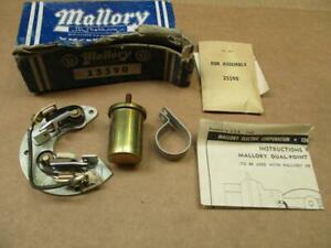 1958 Chevy 348 Tripower Mallory Dual Point Conversion Kit 25590