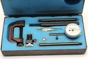 Penncraft Dial Test Indicator Set Machinist Tool 3100 Made In Usa