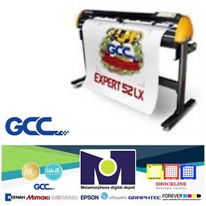 Gcc Expert Ii 52 Lx Vinyl Cutter For Sign And Htv 52 free Shipping