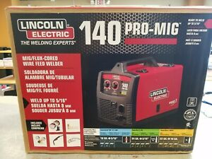 Lincoln electric 140 Pro mig Wire Feed Welder K2480 1