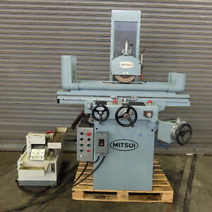 8 X 18 Mitsui 3 Axis Automatic Surface Grinder Model 250h 2h Superb