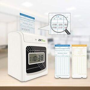 Attendance Clock Check In Time Stamp Machine Punch Time Clock With 100 Time Card