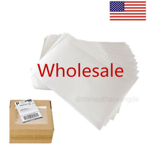 100 1000 Clear Adhesive Packing List Shipping Label Envelopes Pouches 7 5 X 5 5