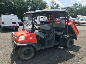 2015 Kubota Rtv 1140 Used 4 Seater Diesel Hydraulic Dump Body 4x4 Utv Low Hours