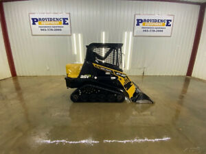 2017 Asv Rt 30 Track Loader With Manual Quick Attach Smooth Bucket