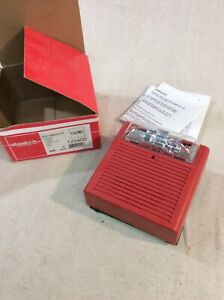 Cooper Wheelock Rss 24mcw fr 24vdc Fire Alarm Strobe Wall Mount Red 129400