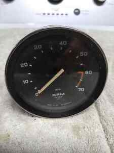 Smiths Mechanical Tach Triumph Jag Land Rover 1325 00a 4 Inch Face Free S