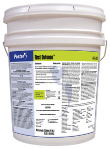Foster First Defense 40 80 Disinfectant 5 Gal