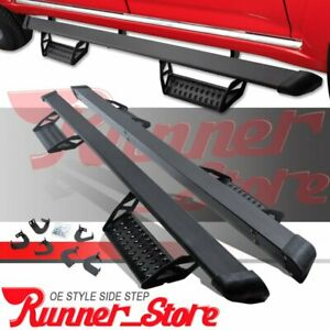 For 05 20 Toyota Tacoma Double Cab 3 Running Board Nerf Bar Side Step Hoop Bcta