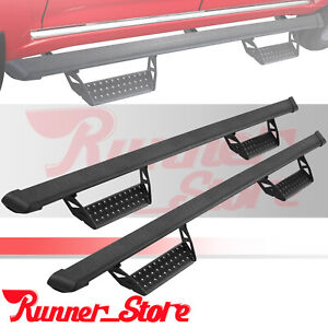 For 05 21 Toyota Tacoma Double Cab 3 Running Board Nerf Bar Side Step Hoop Bcta