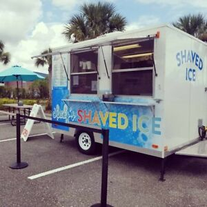 2017 10 X 7 9 Turnkey Shaved Ice Concession Trailer In Florida Fully Loaded