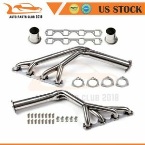 For Ford Mustang 260 289 302 Tri Y Stainless Steel Manifold Header Exhaust
