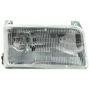 For Ford F250 Hd Headlight 1997 Passenger Side Halogen Fo2503114