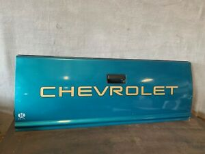 1994 2004 Gmc Chevy S10 S15 Sonoma Pickup Truck Lid Tailgate Bright Teal Oem