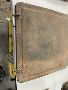 Model T Ford Early Turtle Shell Lid With Latches