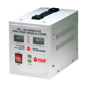 Nippon America Ac Automatic Voltage Regulator Atvr 2000 0000 Watts