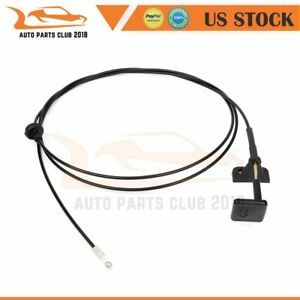 Hood Release Cable Bowden Cable For 96 97 98 99 00 Honda Civic 1 6l 74130s01a01