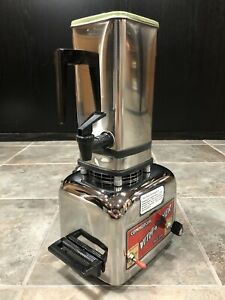 Vitamix Commercial Vita mixer Maxi 4000 Stainless Steel Blender Wrong Lid