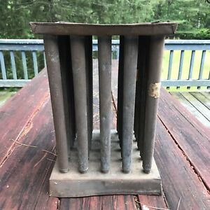Antique Tin Primitive Candle Mold